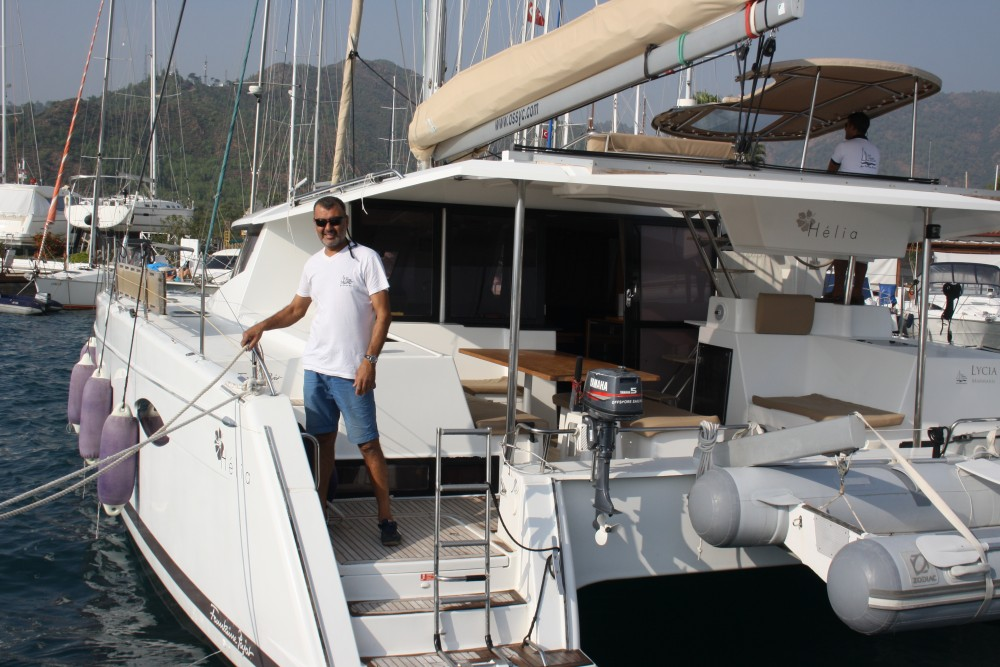 Jachthuur in Marmaris - Fountaine Pajot Helia 44 Quatuor via SamBoat