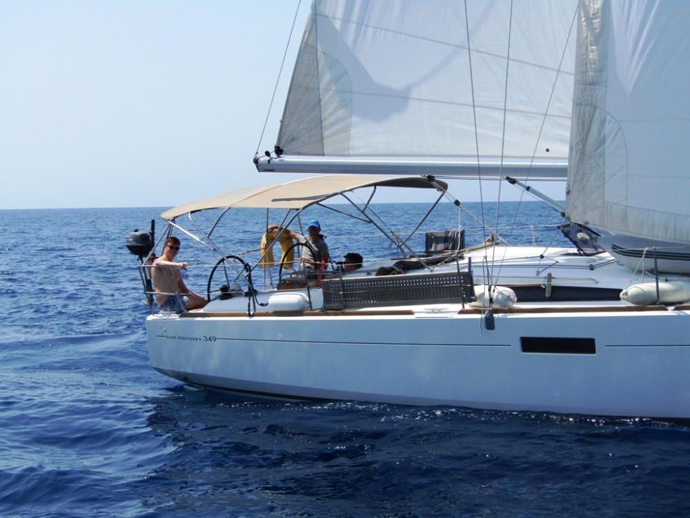 Jachthuur in Fethiye - Jeanneau Sun Odyssey 349 via SamBoat