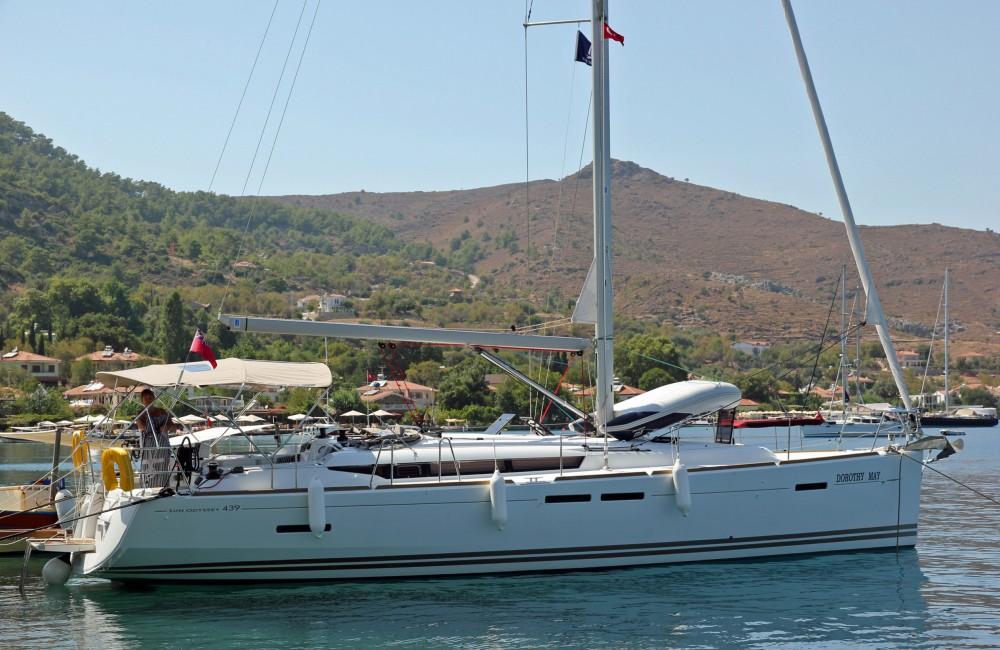 Jeanneau Sun Odyssey 439 te huur van particulier of professional in Fethiye