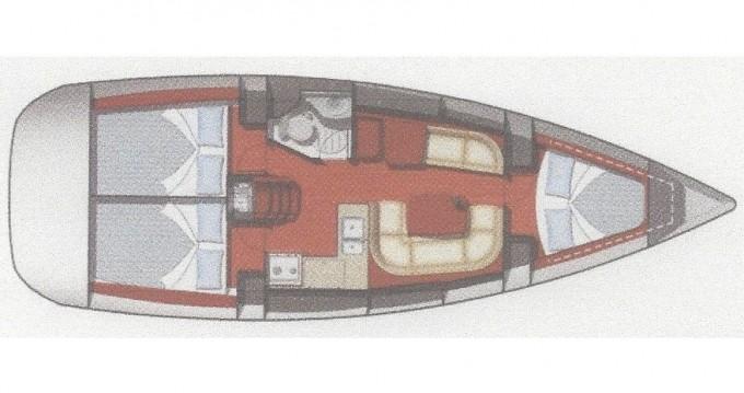 Huur een Jeanneau Sun Odyssey 36i in Fethiye