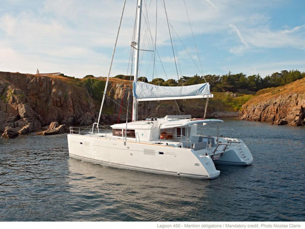 Bootverhuur Trogir goedkoop Lagoon 450 F Luxury