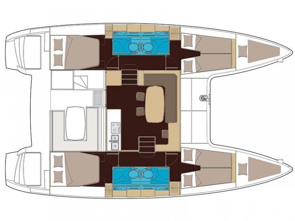 Lagoon Lagoon 400 S2 te huur van particulier of professional in Marina de Alimos