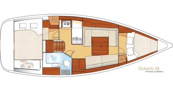 Bootverhuur Bénéteau Oceanis 34 in Port of Lefkada via SamBoat