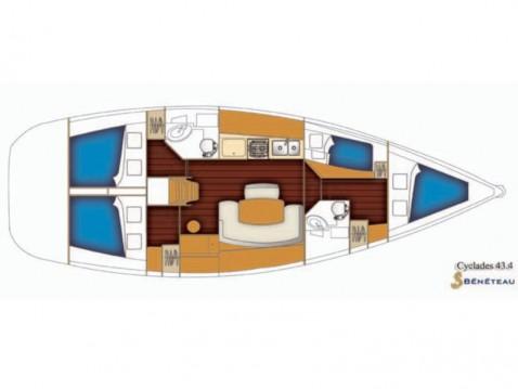 Huur Zeilboot met of zonder schipper Bénéteau in Nettuno