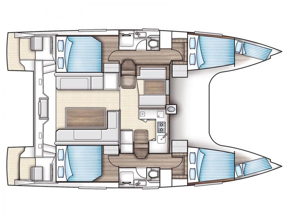 Verhuur Catamaran in ACI Marina Trogir - Nautitech Nautitech Open 40