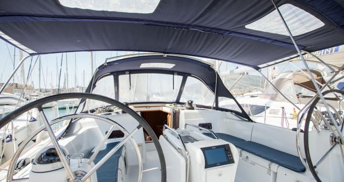 Huur een Jeanneau Sun Odyssey 509 in Trogir