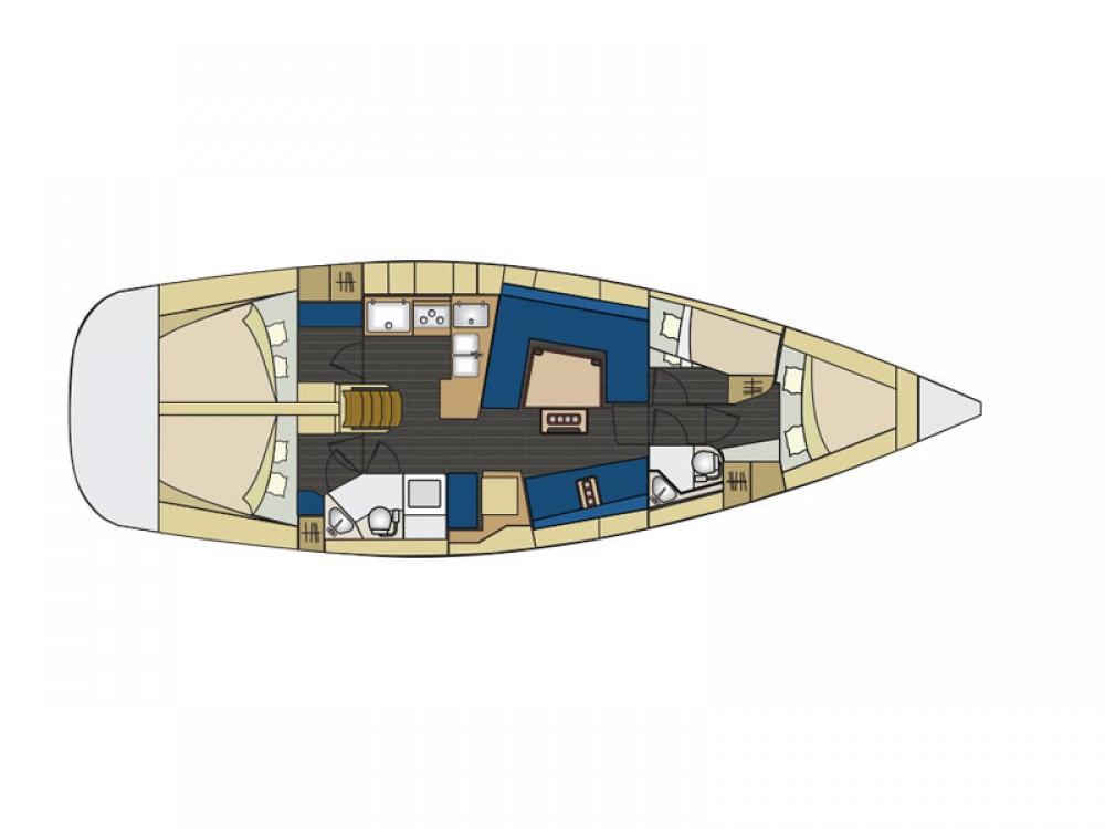 Jachthuur in  - Elan Elan 444 Impression via SamBoat