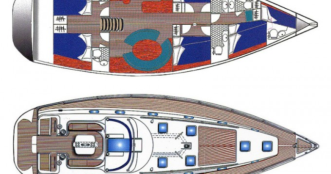 Ocean Ocean Star 56.1- 6 cabins te huur van particulier of professional in Athene