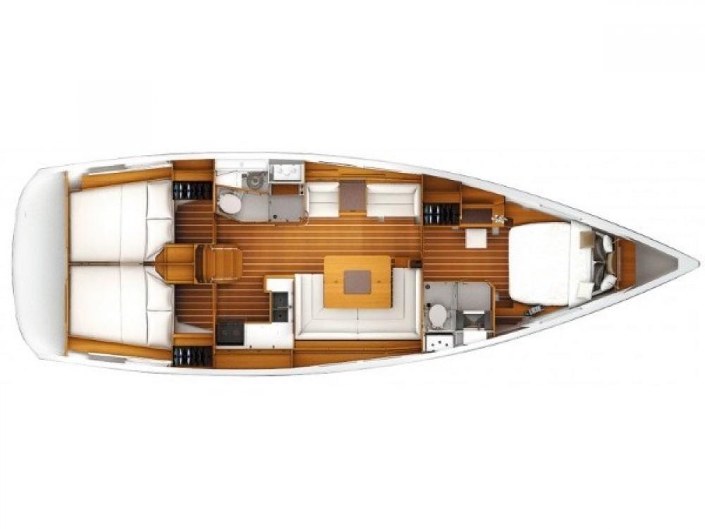 Jeanneau Sun Odyssey 449 owner version  te huur van particulier of professional in Marina Kaštela