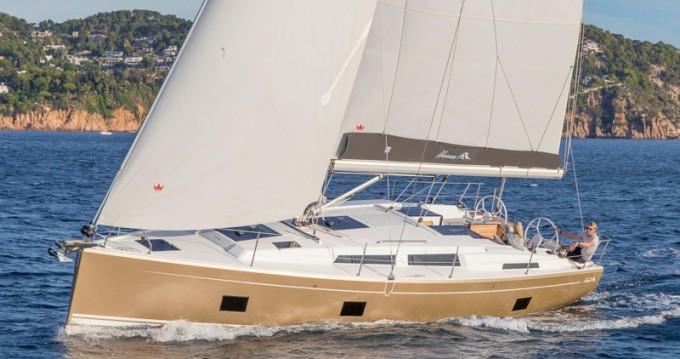Bootverhuur Porto Santo goedkoop Hanse 418
