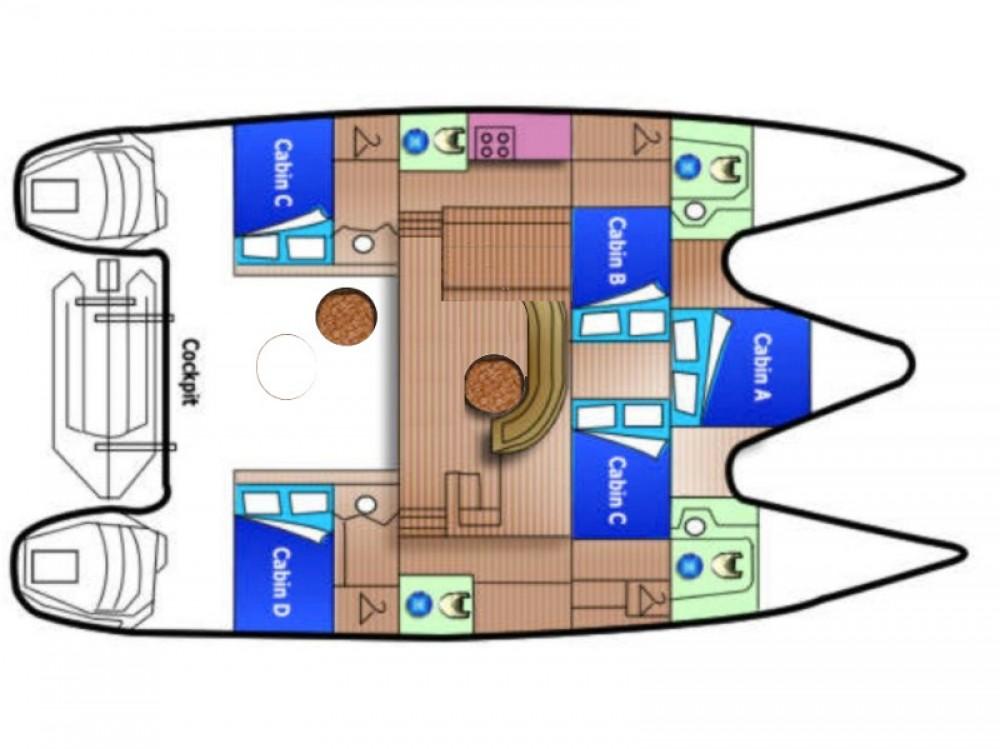Jachthuur in Marina Gouvia - Alliaura Privilege 45 via SamBoat