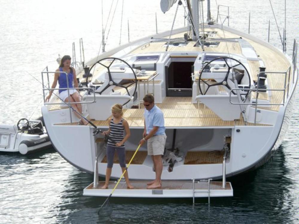 Huur Zeilboot met of zonder schipper Hanse in Marina Gouvia