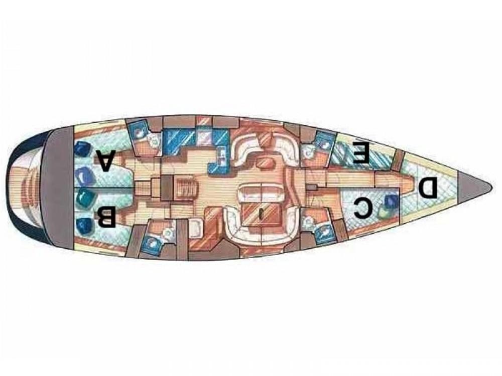 Bootverhuur Marina Gouvia goedkoop Sun Odyssey 54DS