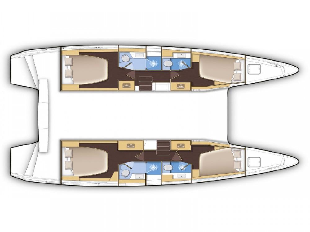 Huur Catamaran met of zonder schipper Lagoon in Porto Pozzo