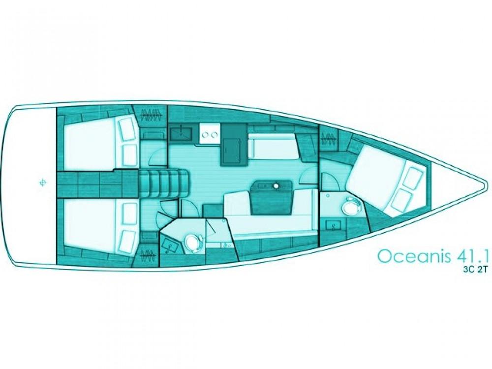 Bootverhuur Βόλος goedkoop Oceanis 411