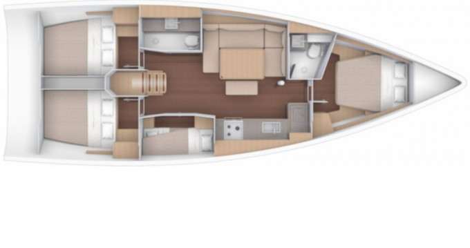 Verhuur Zeilboot in Marina di Portorosa - Dufour Dufour 430 Grand Large