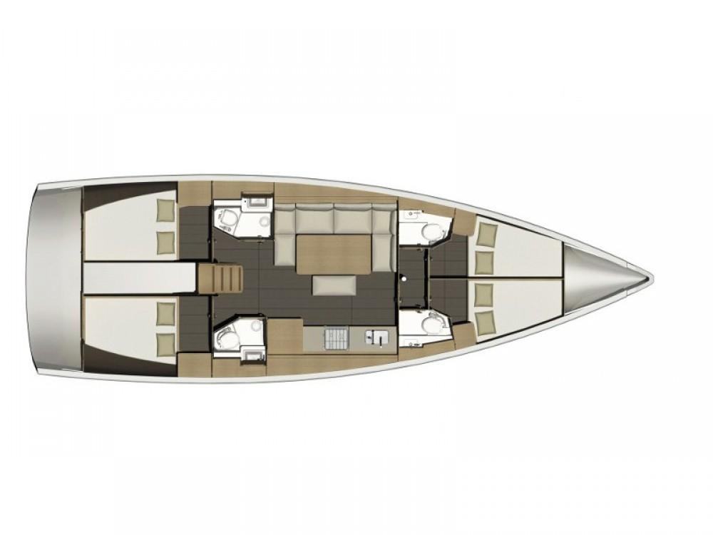 Verhuur Zeilboot in Furnari - Dufour Dufour 460 Grand Large Diego 2018