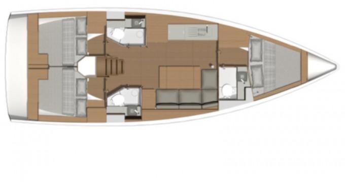 Verhuur Zeilboot in Marina di Portorosa - Dufour Dufour 390 Grand Large