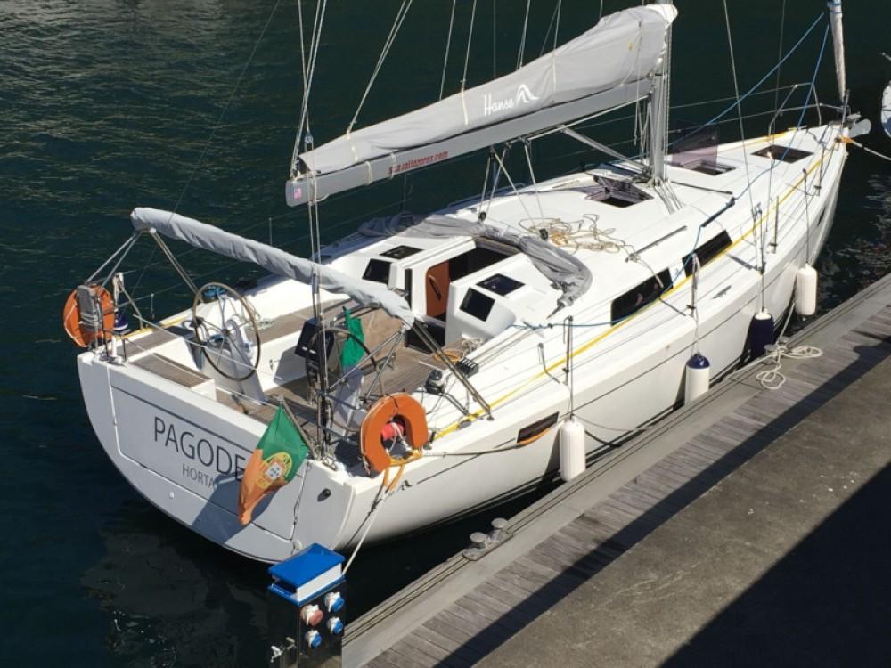 Verhuur Zeilboot in Ponta Delgada (São Pedro) - Hanse Hanse 385