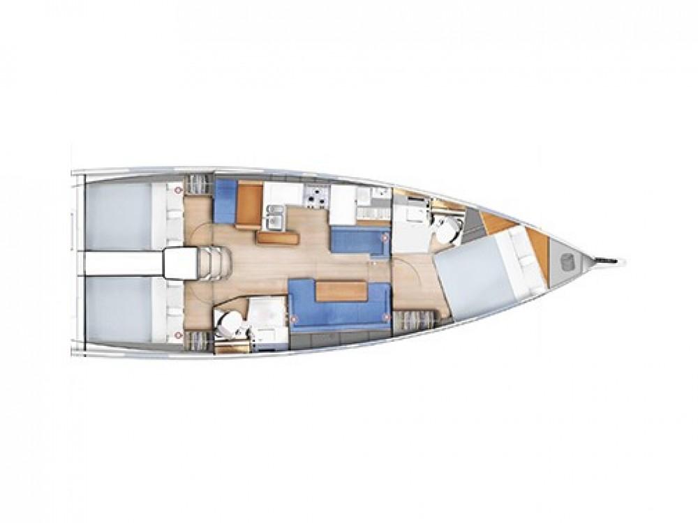 Huur Zeilboot met of zonder schipper Jeanneau in