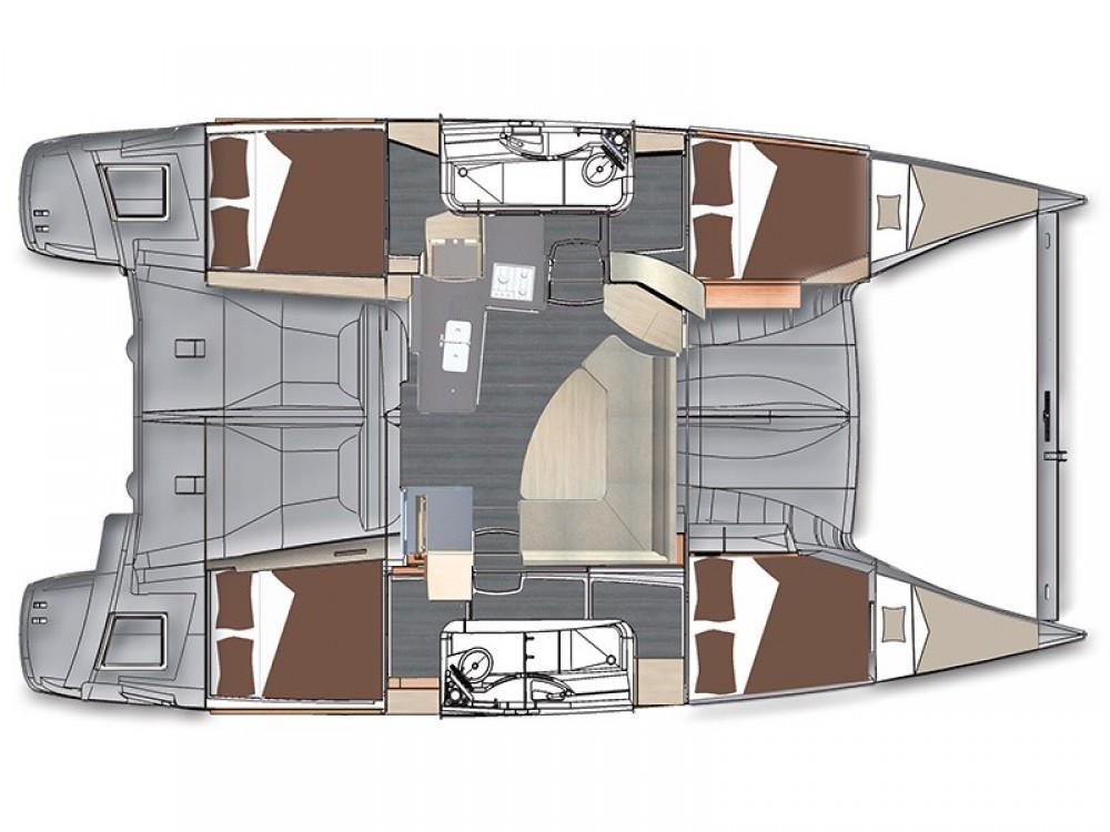 Huur Catamaran met of zonder schipper Fountaine Pajot in Pula