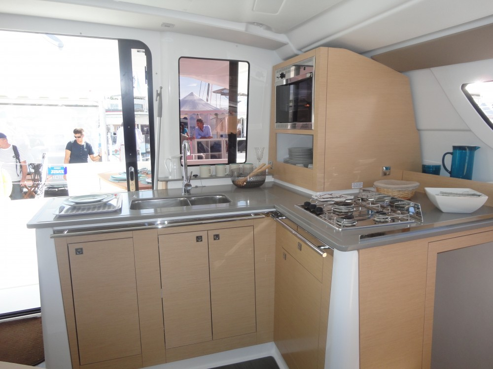Verhuur Catamaran in Pula - Fountaine Pajot Lipari 41 (4 dbl, 2sgl)