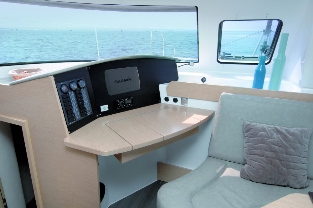 Verhuur Catamaran in Kaštel Gomilica - Fountaine Pajot Lipari 41 (4 dbl, 2sgl)