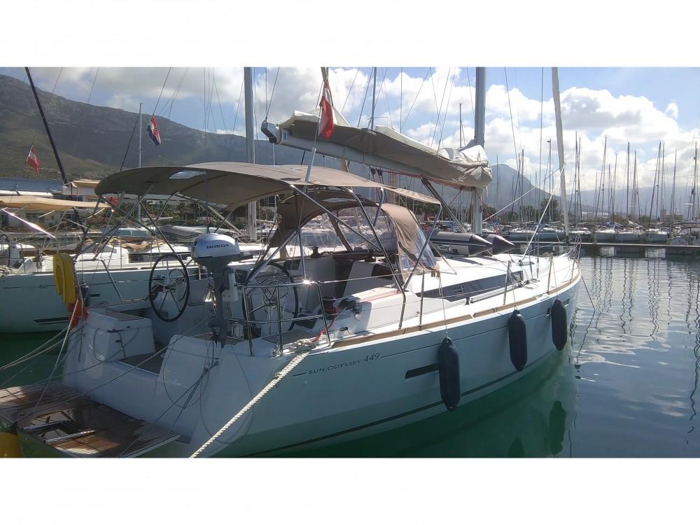 Huur Zeilboot met of zonder schipper Jeanneau in Marina