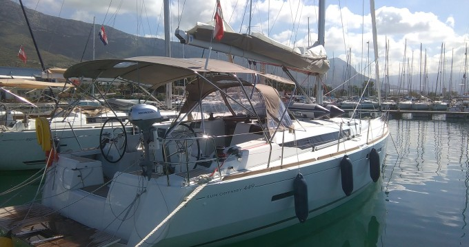 Bootverhuur Jeanneau Sun Odyssey 449 in Mindelo via SamBoat