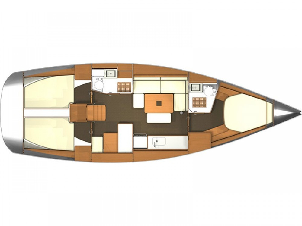 Verhuur Zeilboot in Kaštel Gomilica - Dufour Dufour 405 RM