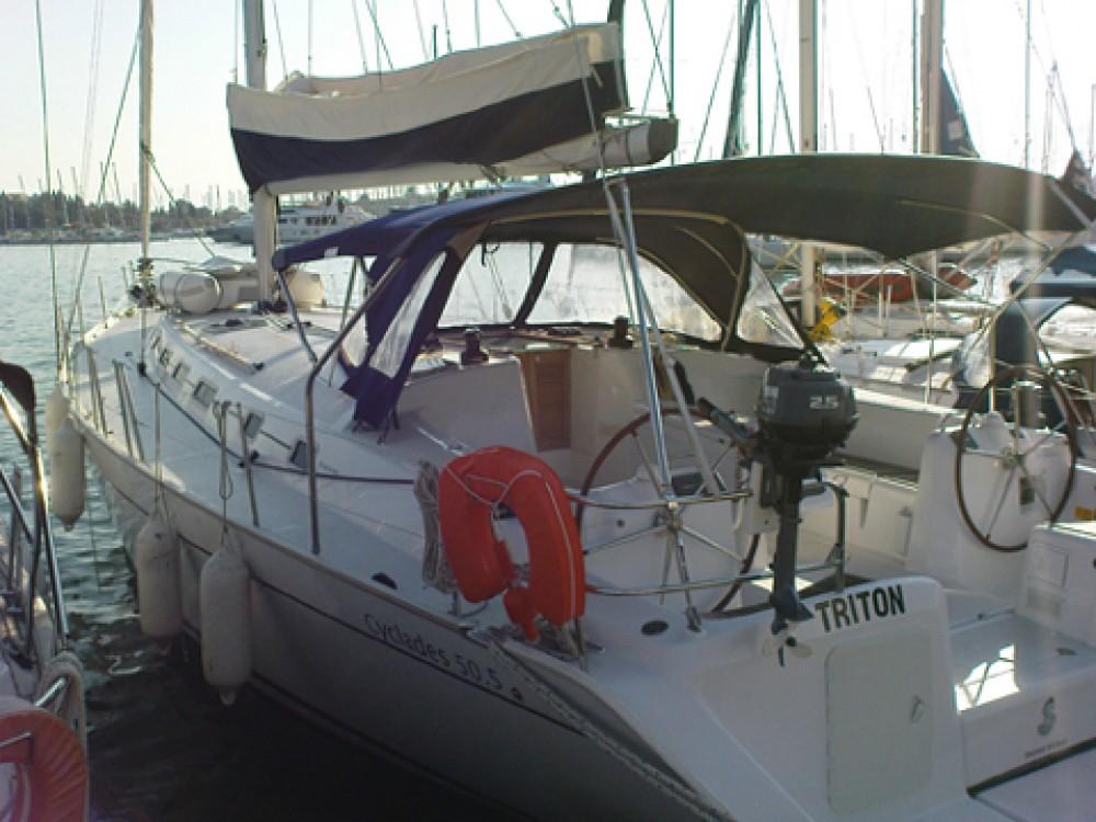 Bootverhuur Bénéteau Cyclades 50.5 in Marina Gouvia via SamBoat
