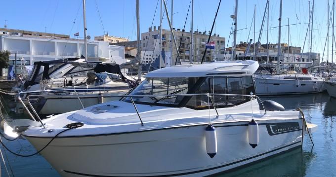 Verhuur Motorboot in Zadar - Jeanneau Merry Fisher 695