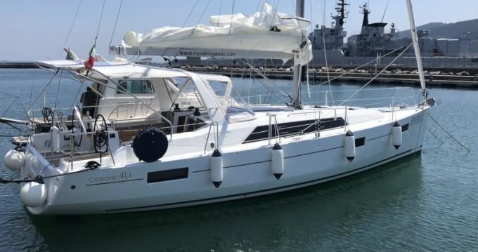 Huur een Bénéteau Oceanis 41.1 in La Spezia