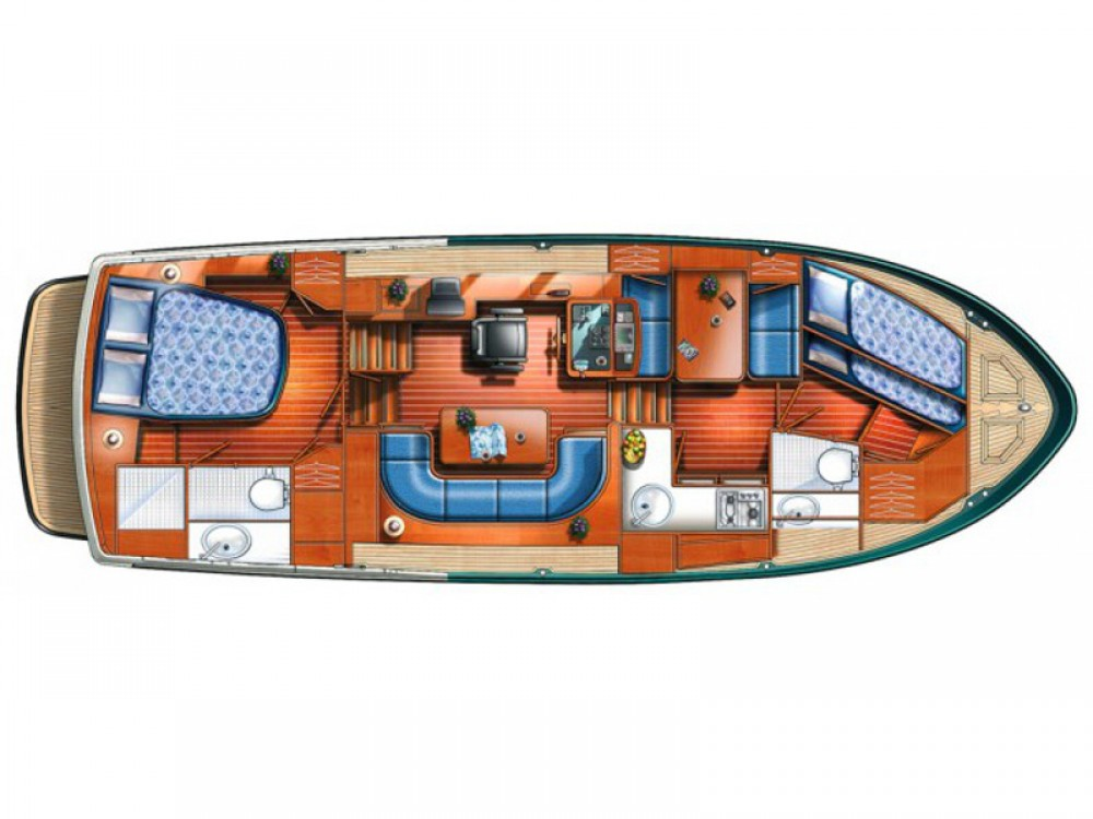 Bootverhuur Lübeck goedkoop Linssen Grand Sturdy 380 AC