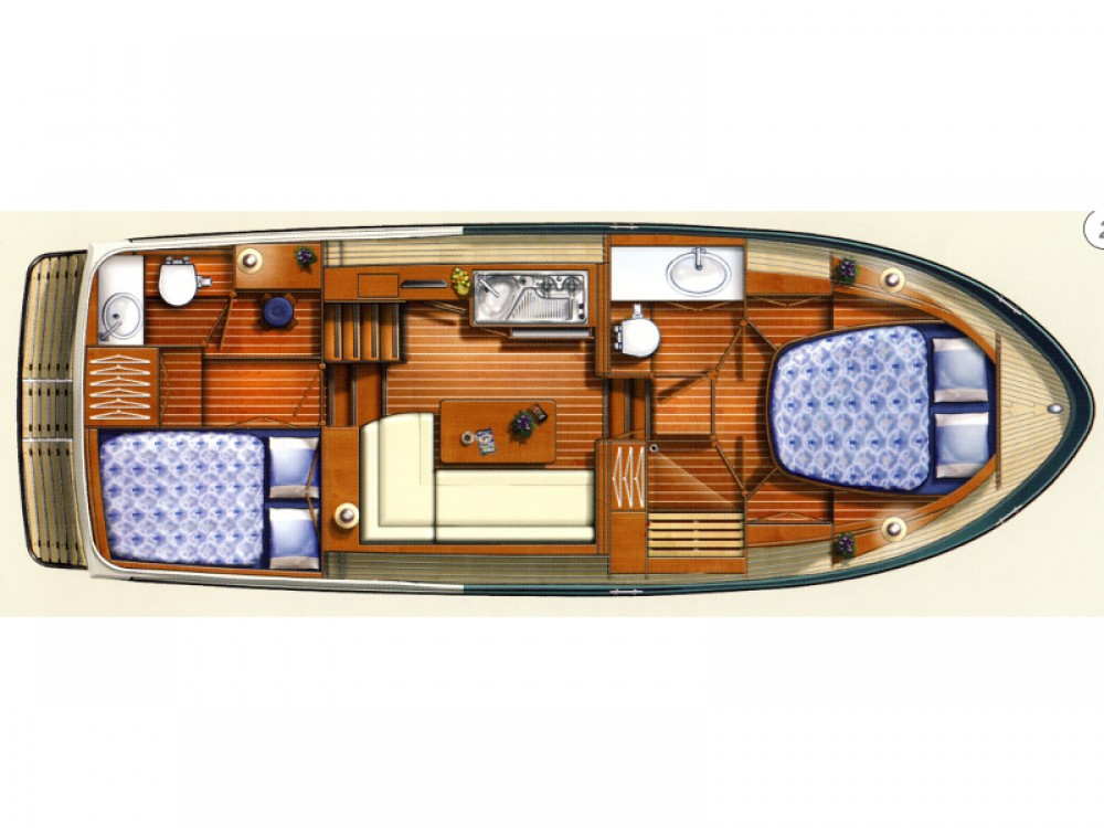 Verhuur Motorboot in Sundhagen - Linssen Linssen Grand Sturdy 29.9 AC
