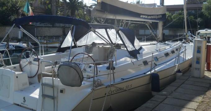 Bootverhuur Marina di Portorosa goedkoop Cyclades 50.5