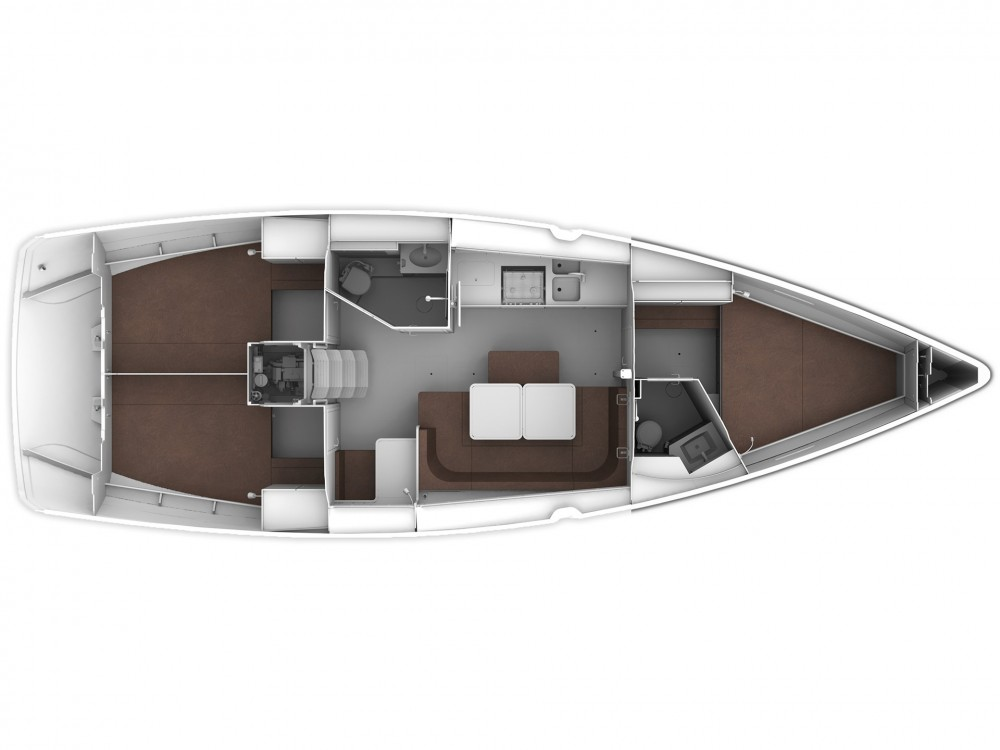 Jachthuur in Cascais e Estoril - Bavaria Bavaria 41 Cruiser Style via SamBoat