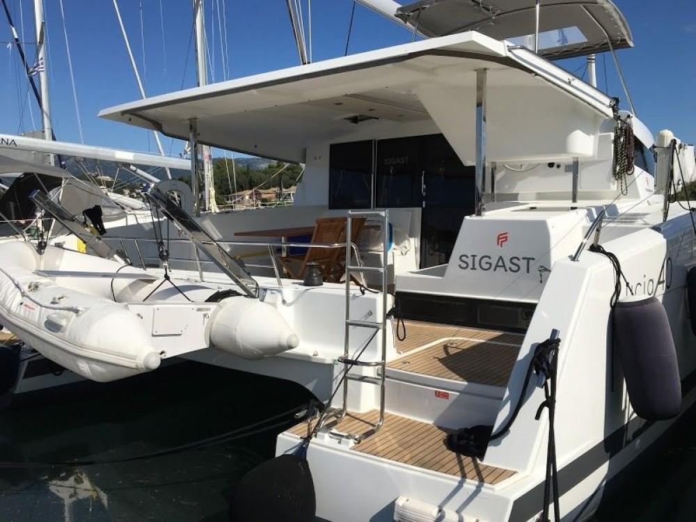 Huur Catamaran met of zonder schipper Fountaine Pajot in Kontokali