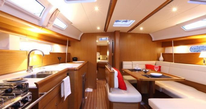 Verhuur Zeilboot in Gouviá - Jeanneau Sun Odyssey 44 i Eigner Version