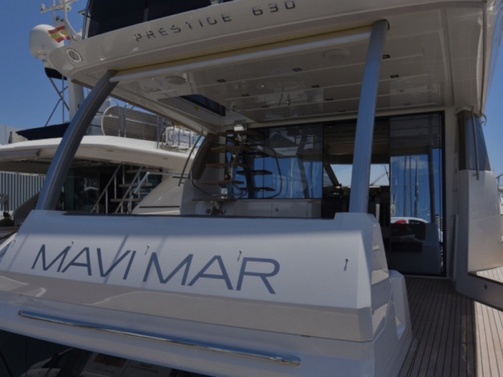 Verhuur Jacht in Marina Port de Mallorca - Jeanneau Prestige 630 Fly