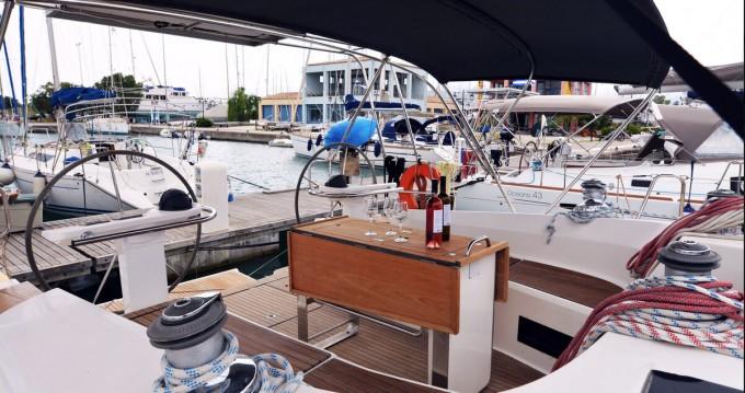 Bootverhuur Kavala goedkoop Bavaria 45 Cruiser