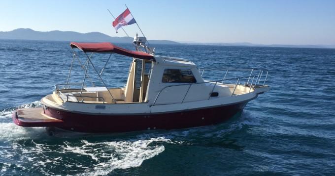 Huur Motorboot met of zonder schipper Damor in Zadar
