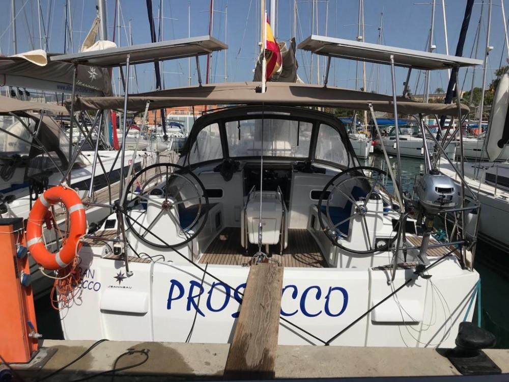 Huur Zeilboot met of zonder schipper Jeanneau in El Rosario