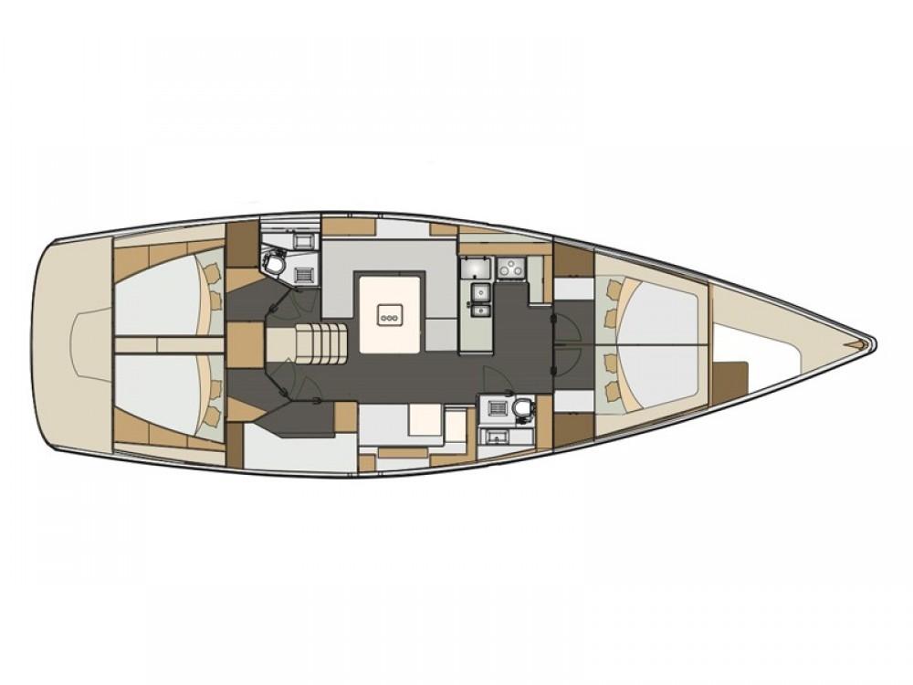 Verhuur Zeilboot in Palma de Mallorca - Elan Elan 50 Impression