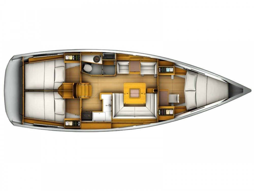 Verhuur Zeilboot in Arona - Jeanneau Sun Odyssey 409