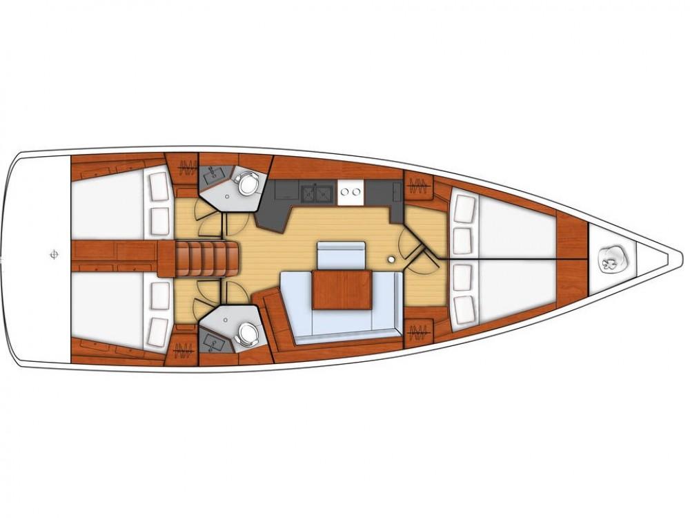 Bootverhuur  goedkoop Oceanis 45-4