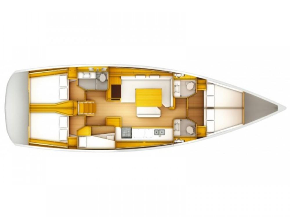 Jachthuur in Spain - Jeanneau Sun Odyssey 519 via SamBoat