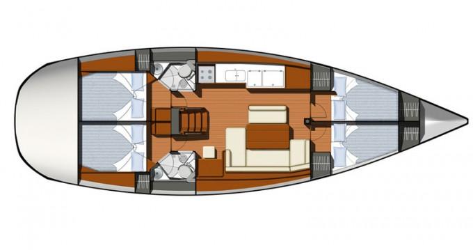 Bootverhuur Jeanneau Sun Odyssey 44i in Pálairos via SamBoat