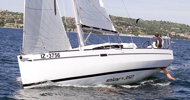 Verhuur Zeilboot in Izola - Elan Elan 350