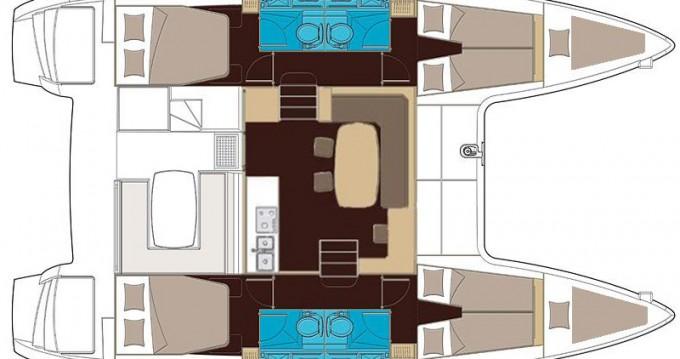 Verhuur Catamaran in Sant Antoni de Portmany - Lagoon Lagoon 400 S2